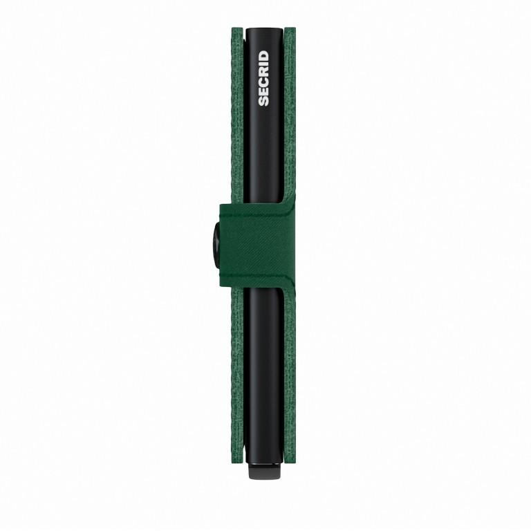 Geldbörse Miniwallet Yard vegan Green, Farbe: grün/oliv, Marke: Secrid, EAN: 8718215287902, Abmessungen in cm: 6.5x10.2x2.1, Bild 2 von 5