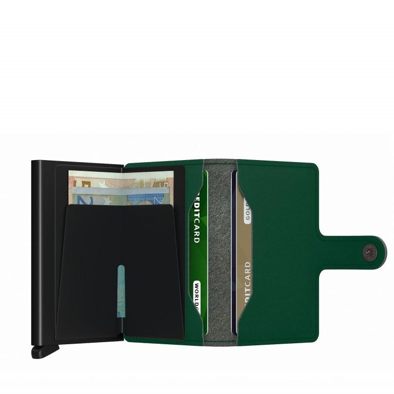 Geldbörse Miniwallet Yard vegan Green, Farbe: grün/oliv, Marke: Secrid, EAN: 8718215287902, Abmessungen in cm: 6.5x10.2x2.1, Bild 3 von 5