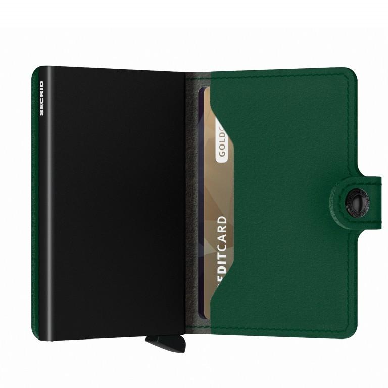Geldbörse Miniwallet Yard vegan Green, Farbe: grün/oliv, Marke: Secrid, EAN: 8718215287902, Abmessungen in cm: 6.5x10.2x2.1, Bild 4 von 5