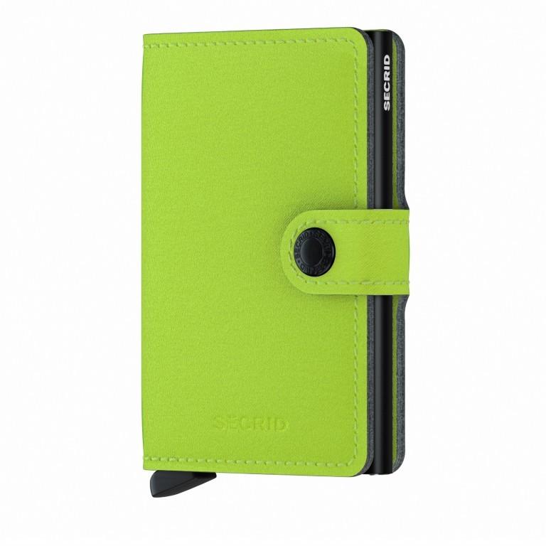 Geldbörse Miniwallet Yard vegan Lime, Farbe: grün/oliv, Marke: Secrid, EAN: 8718215287957, Abmessungen in cm: 6.5x10.2x2.1, Bild 1 von 5