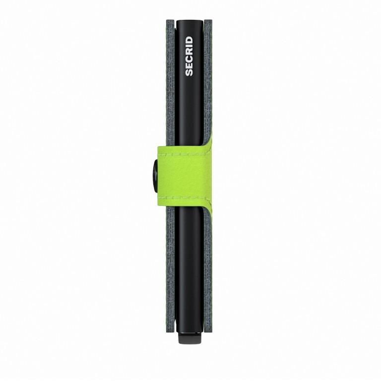 Geldbörse Miniwallet Yard vegan Lime, Farbe: grün/oliv, Marke: Secrid, EAN: 8718215287957, Abmessungen in cm: 6.5x10.2x2.1, Bild 2 von 5