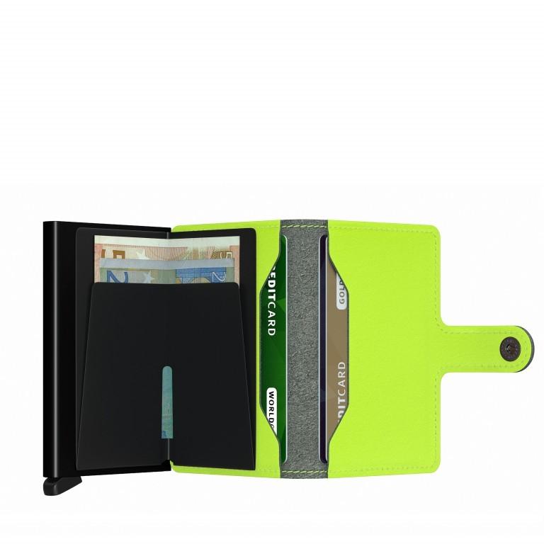 Geldbörse Miniwallet Yard vegan Lime, Farbe: grün/oliv, Marke: Secrid, EAN: 8718215287957, Abmessungen in cm: 6.5x10.2x2.1, Bild 3 von 5