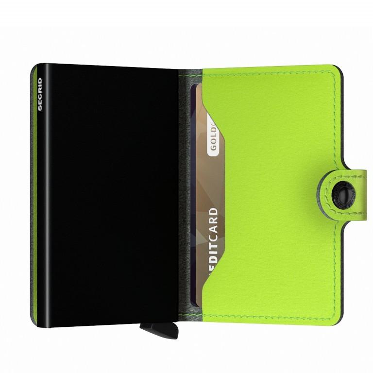 Geldbörse Miniwallet Yard vegan Lime, Farbe: grün/oliv, Marke: Secrid, EAN: 8718215287957, Abmessungen in cm: 6.5x10.2x2.1, Bild 4 von 5
