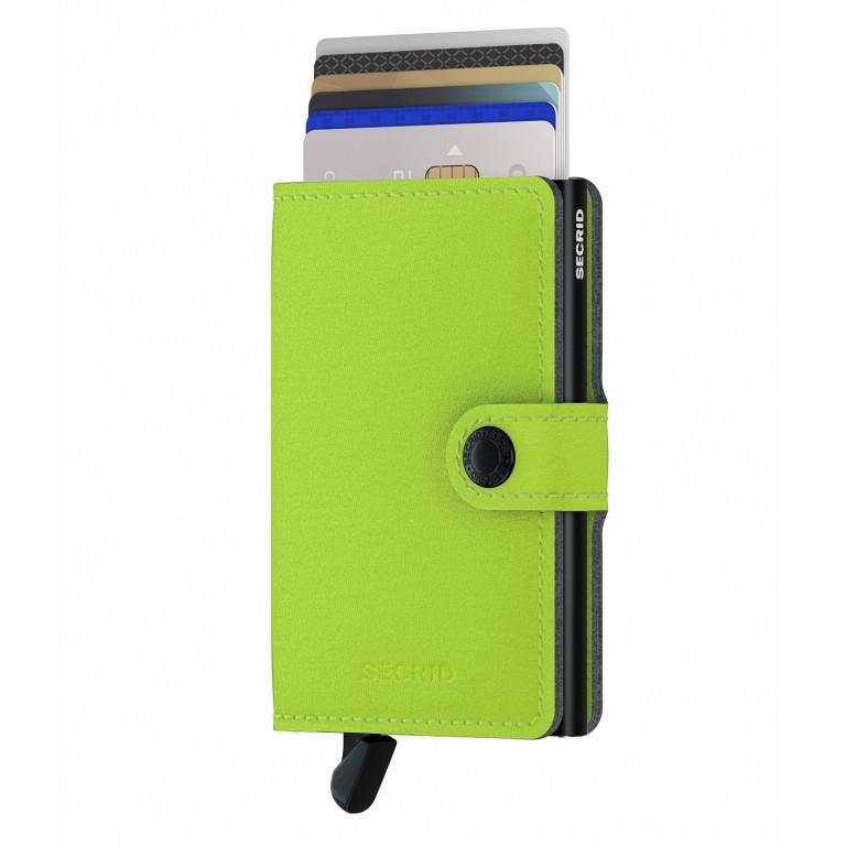 Geldbörse Miniwallet Yard vegan Lime, Farbe: grün/oliv, Marke: Secrid, EAN: 8718215287957, Abmessungen in cm: 6.5x10.2x2.1, Bild 5 von 5