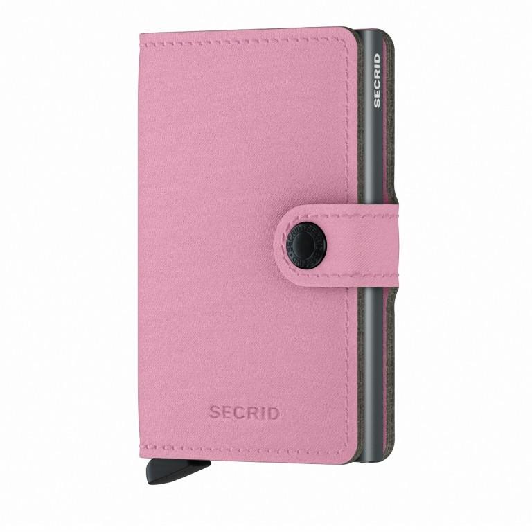 Geldbörse Miniwallet Yard vegan Rose, Farbe: rosa/pink, Marke: Secrid, EAN: 8718215287964, Abmessungen in cm: 6.5x10.2x2.1, Bild 1 von 5