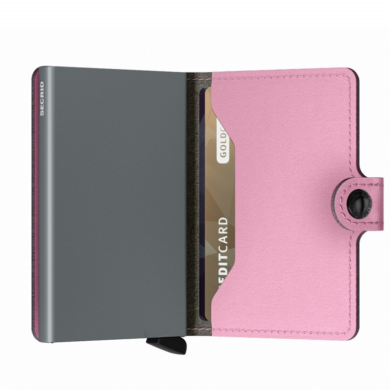 Geldbörse Miniwallet Yard vegan Rose, Farbe: rosa/pink, Marke: Secrid, EAN: 8718215287964, Abmessungen in cm: 6.5x10.2x2.1, Bild 4 von 5