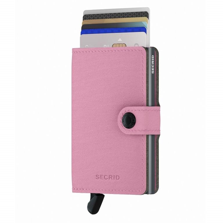 Geldbörse Miniwallet Yard vegan Rose, Farbe: rosa/pink, Marke: Secrid, EAN: 8718215287964, Abmessungen in cm: 6.5x10.2x2.1, Bild 5 von 5