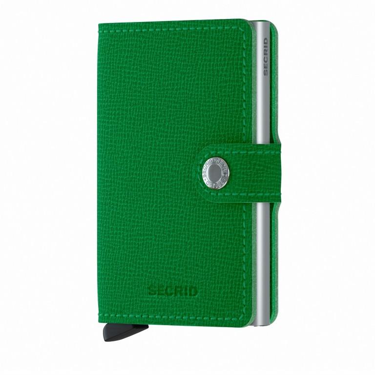 Geldbörse Miniwallet Crisple Apple, Farbe: grün/oliv, Marke: Secrid, EAN: 8718215287858, Abmessungen in cm: 6.8x10.2x2.1, Bild 1 von 5