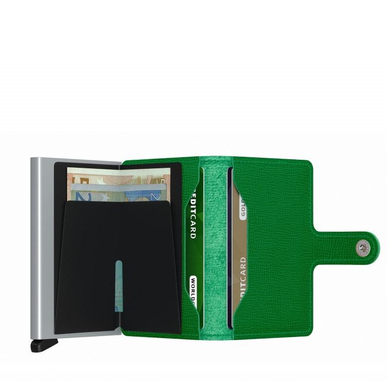 Geldbörse Miniwallet Crisple Apple, Farbe: grün/oliv, Marke: Secrid, EAN: 8718215287858, Abmessungen in cm: 6.8x10.2x2.1, Bild 3 von 5