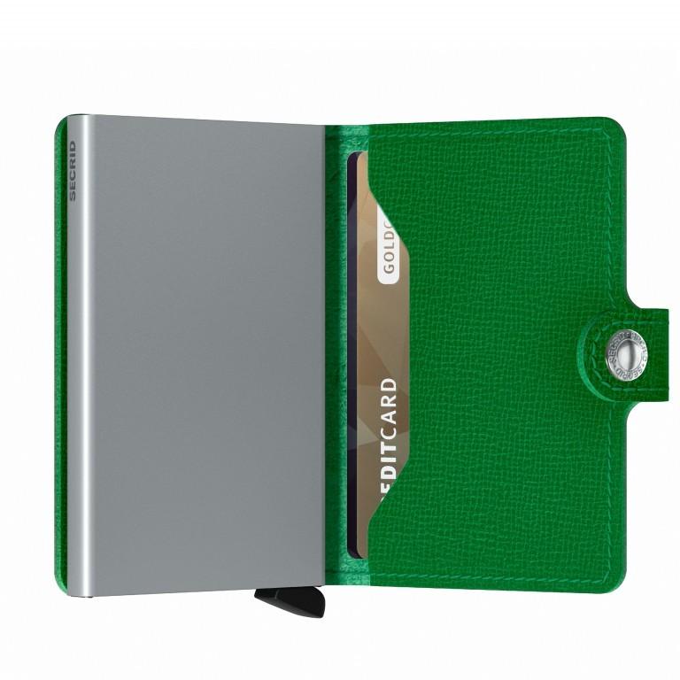 Geldbörse Miniwallet Crisple Apple, Farbe: grün/oliv, Marke: Secrid, EAN: 8718215287858, Abmessungen in cm: 6.8x10.2x2.1, Bild 4 von 5