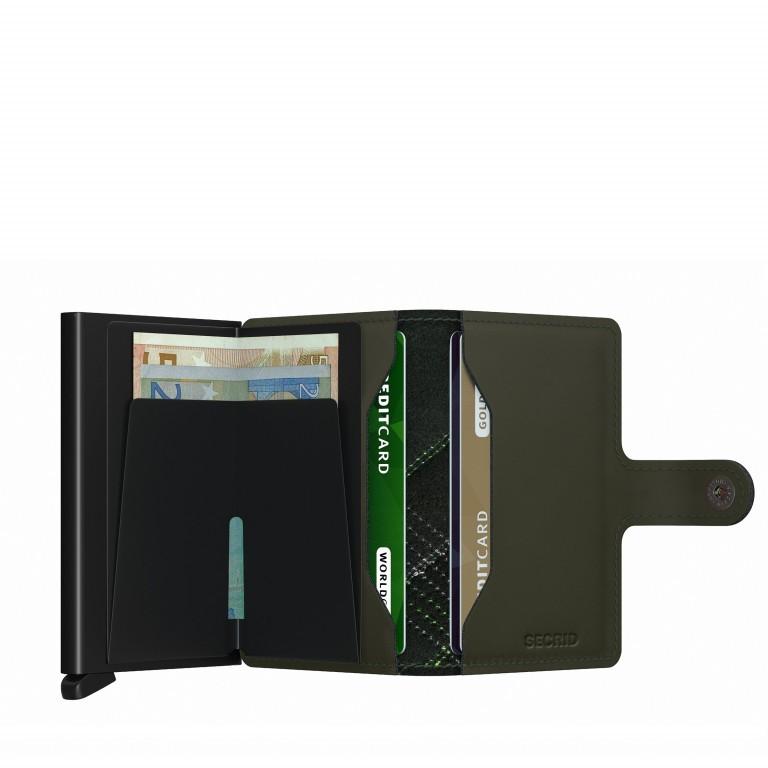 Geldbörse Miniwallet Stitch Linea Lime, Farbe: grün/oliv, Marke: Secrid, EAN: 8718215287971, Abmessungen in cm: 6.8x10.2x2.1, Bild 3 von 5