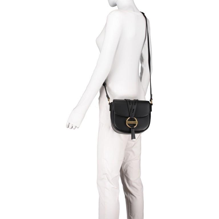 Umhängetasche Schwarz, Farbe: schwarz, Marke: Love Moschino, EAN: 8059826649261, Abmessungen in cm: 20.5x18.5x8.0, Bild 5 von 6