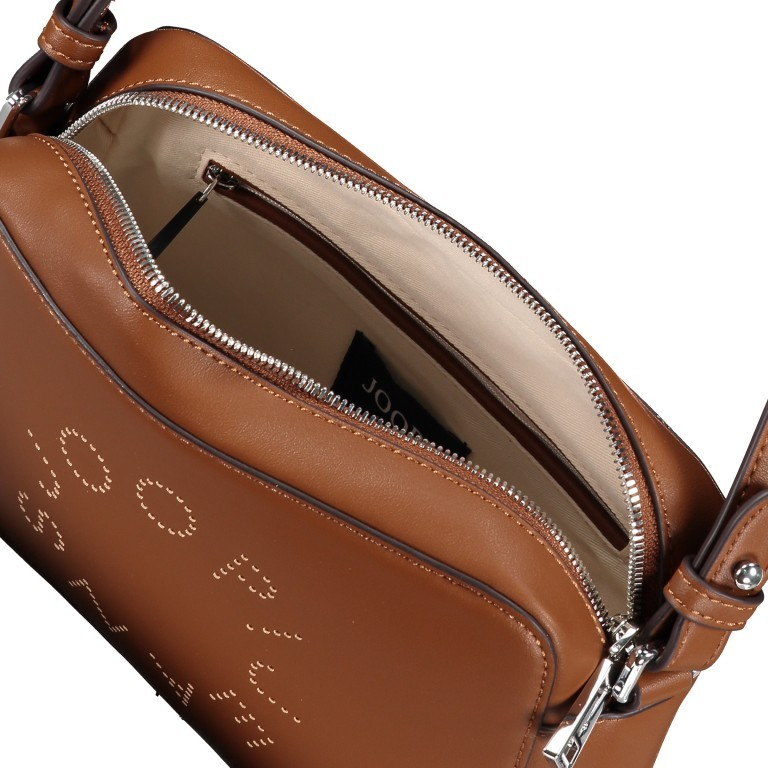 Umhängetasche Giro Cloe SHZ Cognac, Farbe: cognac, Marke: Joop!, EAN: 4053533835744, Abmessungen in cm: 22.0x15.5x6.5, Bild 6 von 6