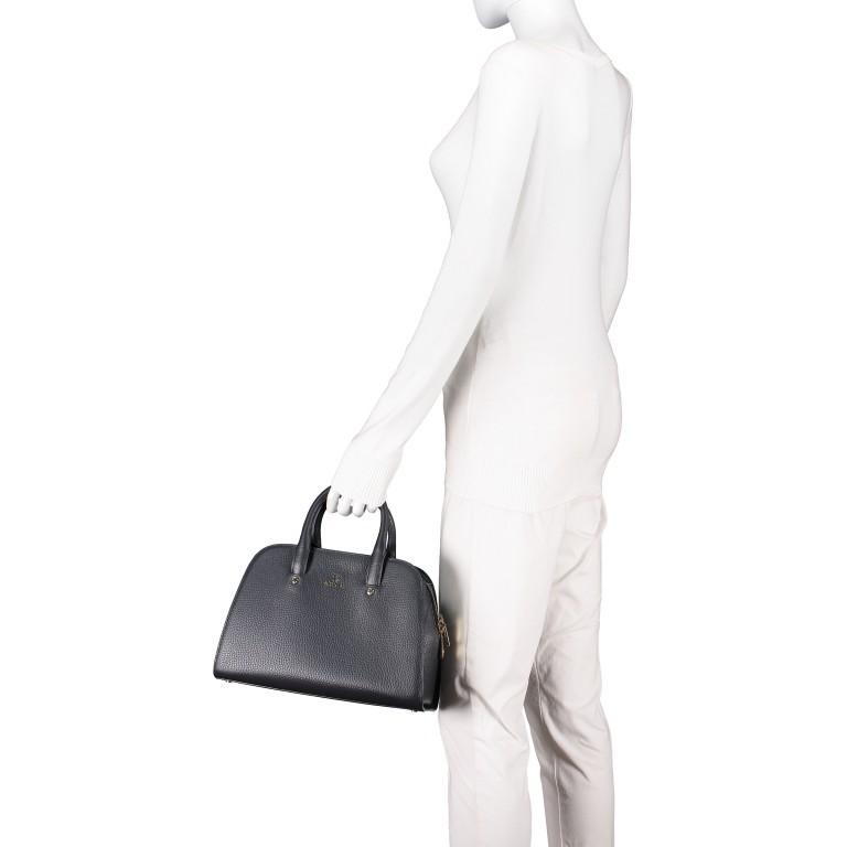 Handtasche Ivy 135-390 Black Silver, Farbe: schwarz, Marke: AIGNER, EAN: 4055539344442, Abmessungen in cm: 29.0x21.0x12.5, Bild 4 von 7