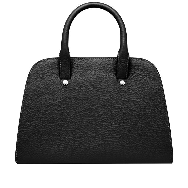Handtasche Ivy 135-390 Black Silver, Farbe: schwarz, Marke: AIGNER, EAN: 4055539344442, Abmessungen in cm: 29.0x21.0x12.5, Bild 3 von 7