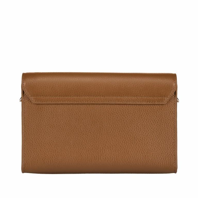 Umhängetasche Mina S 139-114 Dark Toffee Brown, Farbe: cognac, Marke: AIGNER, EAN: 4055539331190, Abmessungen in cm: 21.5x14.0x5.0, Bild 3 von 6