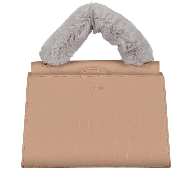 Handtasche Olivia Sand Croco Matt, Farbe: beige, Marke: Inyati, EAN: 4251289849644, Abmessungen in cm: 28.0x20.0x7.5, Bild 1 von 10