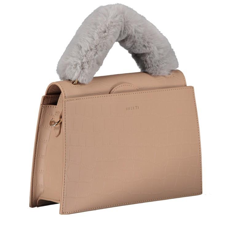 Handtasche Olivia Sand Croco Matt, Farbe: beige, Marke: Inyati, EAN: 4251289849644, Abmessungen in cm: 28.0x20.0x7.5, Bild 2 von 10