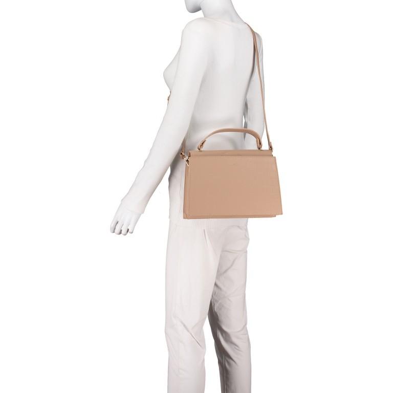 Handtasche Olivia Sand Croco Matt, Farbe: beige, Marke: Inyati, EAN: 4251289849644, Abmessungen in cm: 28.0x20.0x7.5, Bild 7 von 10