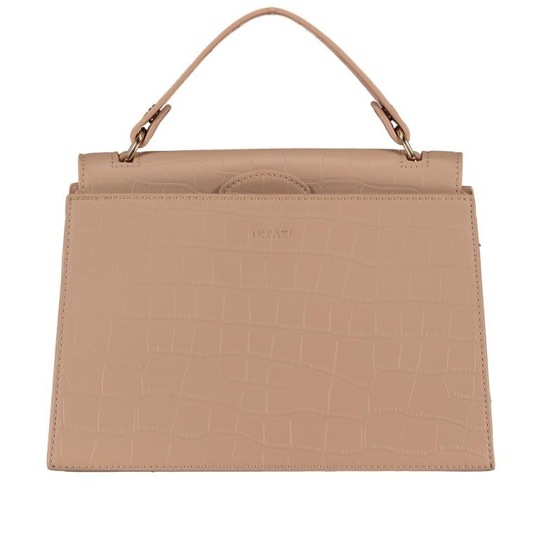 Handtasche Olivia Sand Croco Matt, Farbe: beige, Marke: Inyati, EAN: 4251289849644, Abmessungen in cm: 28.0x20.0x7.5, Bild 9 von 10