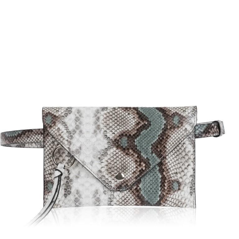 Gürteltasche Clutch LDA Green Snake, Farbe: grün/oliv, Marke: Inyati, EAN: 4251289851449, Abmessungen in cm: 20.0x14.0x0.5, Bild 1 von 12