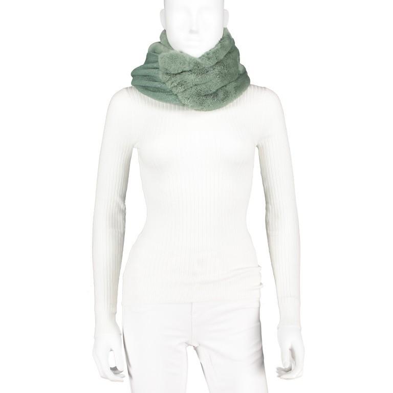 Kapuzenschal Vlien Green Bay, Farbe: grün/oliv, Marke: Rino & Pelle, EAN: 8719293682917, Bild 3 von 3