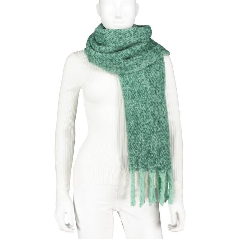 Schal Tigra Bottle Green, Farbe: grün/oliv, Marke: Rino & Pelle, EAN: 8719293662186, Bild 1 von 3