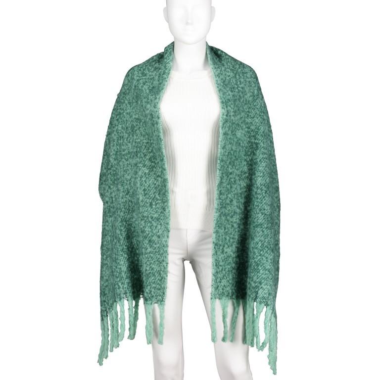 Schal Tigra Bottle Green, Farbe: grün/oliv, Marke: Rino & Pelle, EAN: 8719293662186, Bild 3 von 3