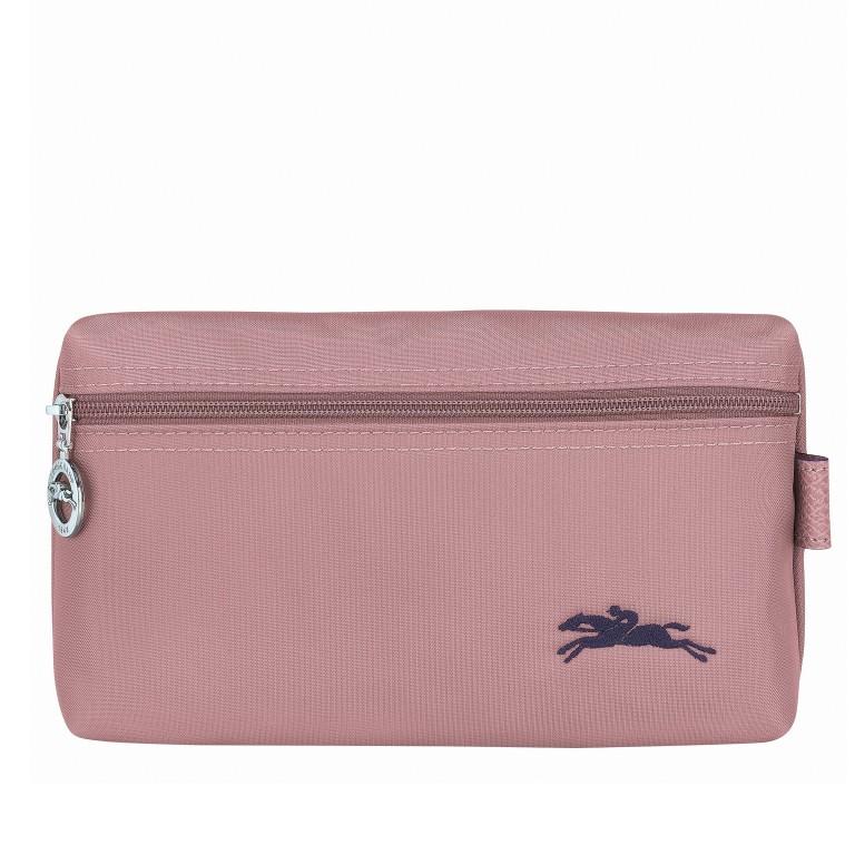 Kosmetiktasche Le Pliage Club Pochette Rosa, Farbe: rosa/pink, Marke: Longchamp, EAN: 3597921926023, Abmessungen in cm: 20.0x12.0x6.0, Bild 1 von 3