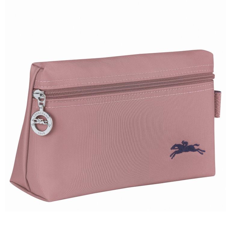 Kosmetiktasche Le Pliage Club Pochette Rosa, Farbe: rosa/pink, Marke: Longchamp, EAN: 3597921926023, Abmessungen in cm: 20.0x12.0x6.0, Bild 2 von 3
