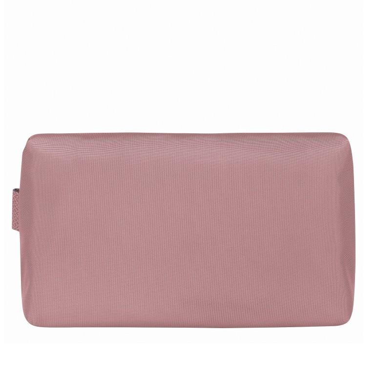 Kosmetiktasche Le Pliage Club Pochette Rosa, Farbe: rosa/pink, Marke: Longchamp, EAN: 3597921926023, Abmessungen in cm: 20.0x12.0x6.0, Bild 3 von 3