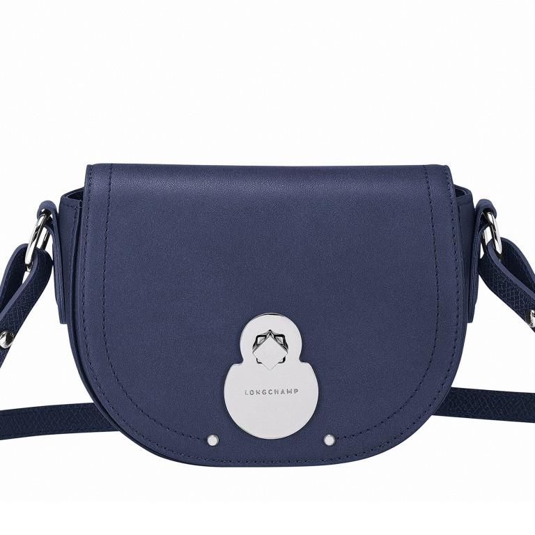 Umhängetasche Cavalcade Umhängetasche XS Dunkelblau, Farbe: blau/petrol, Marke: Longchamp, EAN: 3597921932482, Abmessungen in cm: 18.0x14.0x5.0, Bild 1 von 3