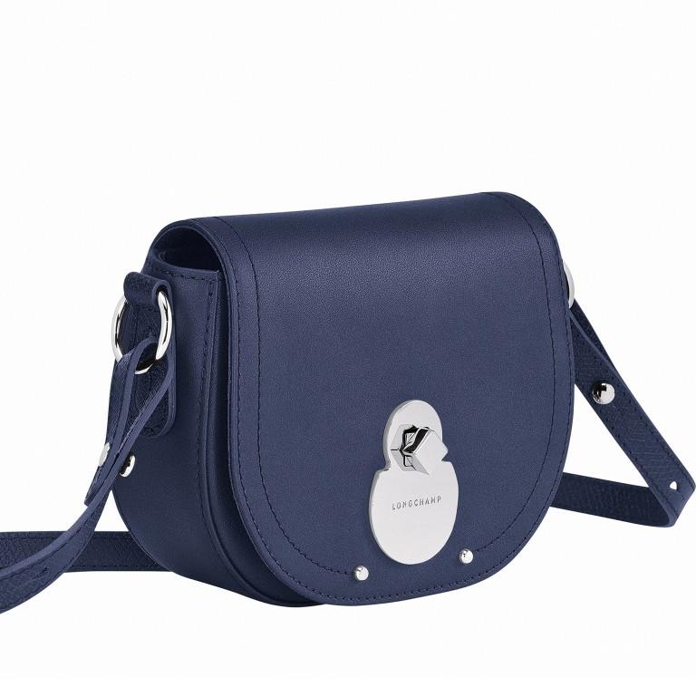 Umhängetasche Cavalcade Umhängetasche XS Dunkelblau, Farbe: blau/petrol, Marke: Longchamp, EAN: 3597921932482, Abmessungen in cm: 18.0x14.0x5.0, Bild 2 von 3