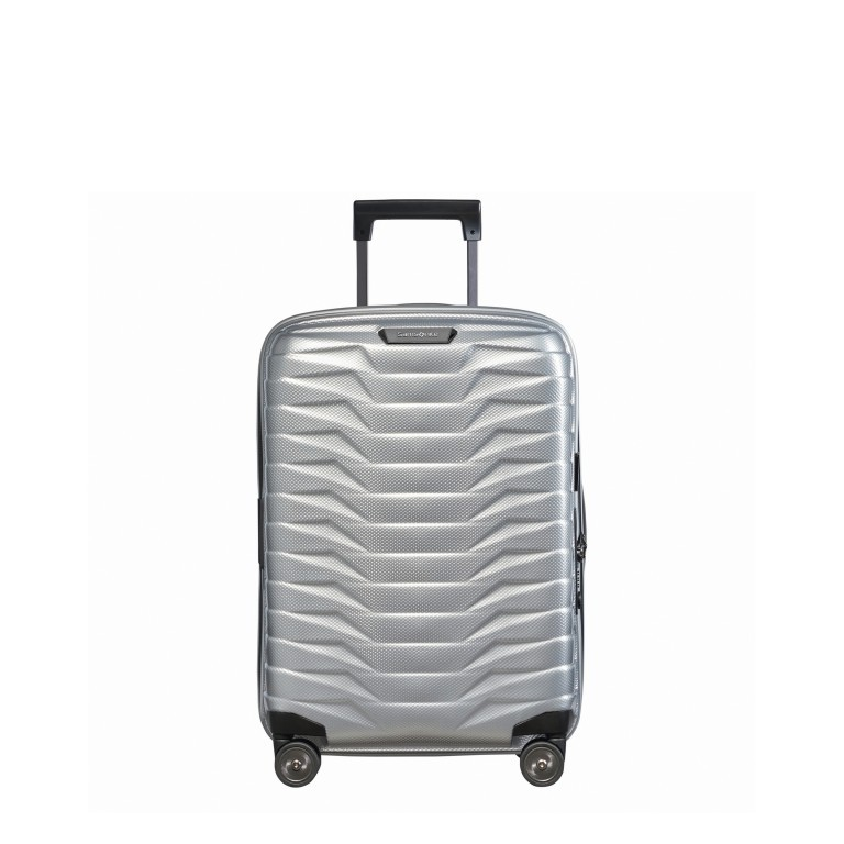 Koffer Proxis Spinner 55 Silver, Farbe: metallic, Marke: Samsonite, EAN: 5400520004314, Abmessungen in cm: 40.0x55.0x20.0, Bild 1 von 17