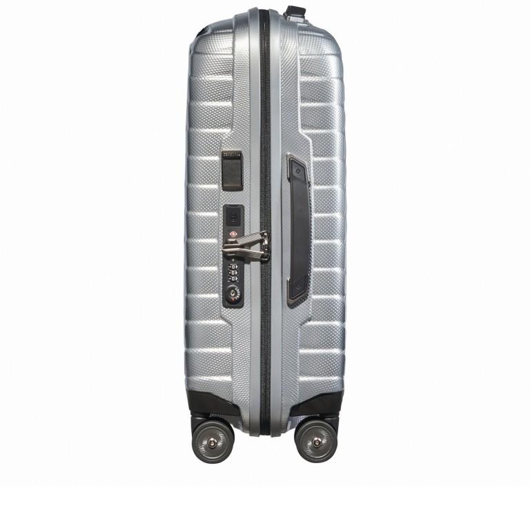 Koffer Proxis Spinner 55 Silver, Farbe: metallic, Marke: Samsonite, EAN: 5400520004314, Abmessungen in cm: 40.0x55.0x20.0, Bild 3 von 17