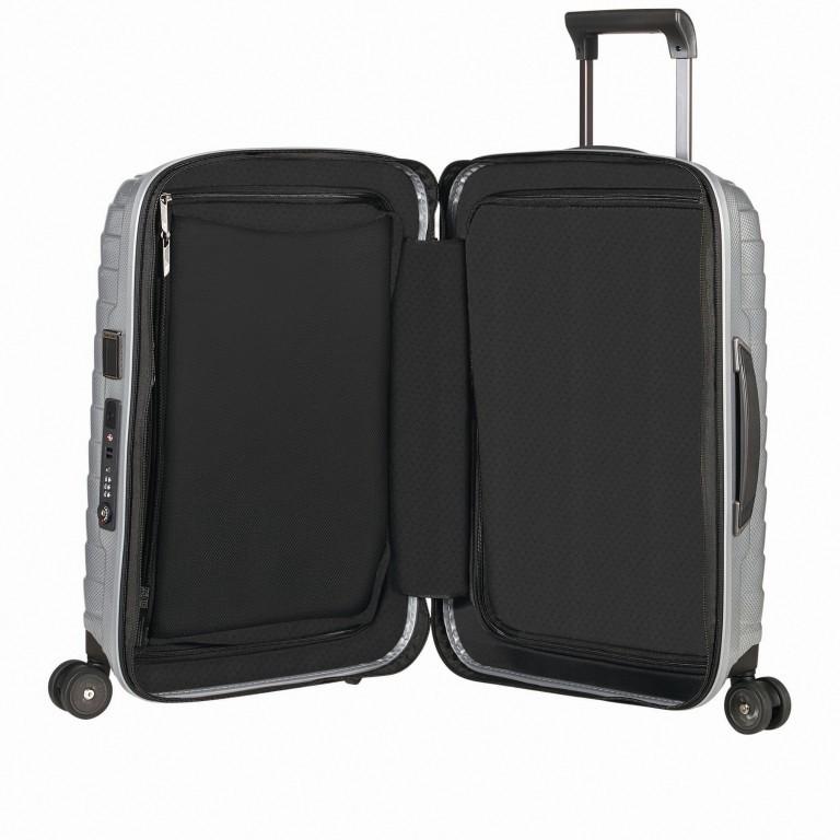 Koffer Proxis Spinner 55 Silver, Farbe: metallic, Marke: Samsonite, EAN: 5400520004314, Abmessungen in cm: 40.0x55.0x20.0, Bild 6 von 17