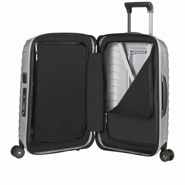 Koffer Proxis Spinner 55 Silver, Farbe: metallic, Marke: Samsonite, EAN: 5400520004314, Abmessungen in cm: 40.0x55.0x20.0, Bild 7 von 17