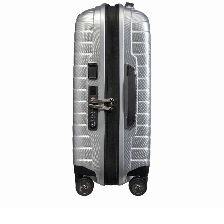 Koffer Proxis Spinner 55 Silver, Farbe: metallic, Marke: Samsonite, EAN: 5400520004314, Abmessungen in cm: 40.0x55.0x20.0, Bild 8 von 17