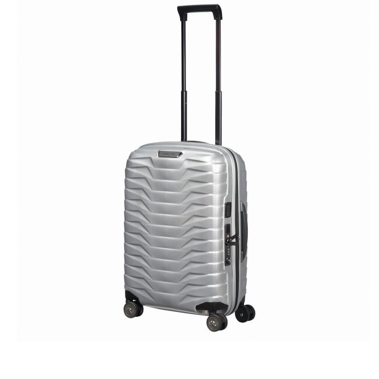 Koffer Proxis Spinner 55 Silver, Farbe: metallic, Marke: Samsonite, EAN: 5400520004314, Abmessungen in cm: 40.0x55.0x20.0, Bild 9 von 17