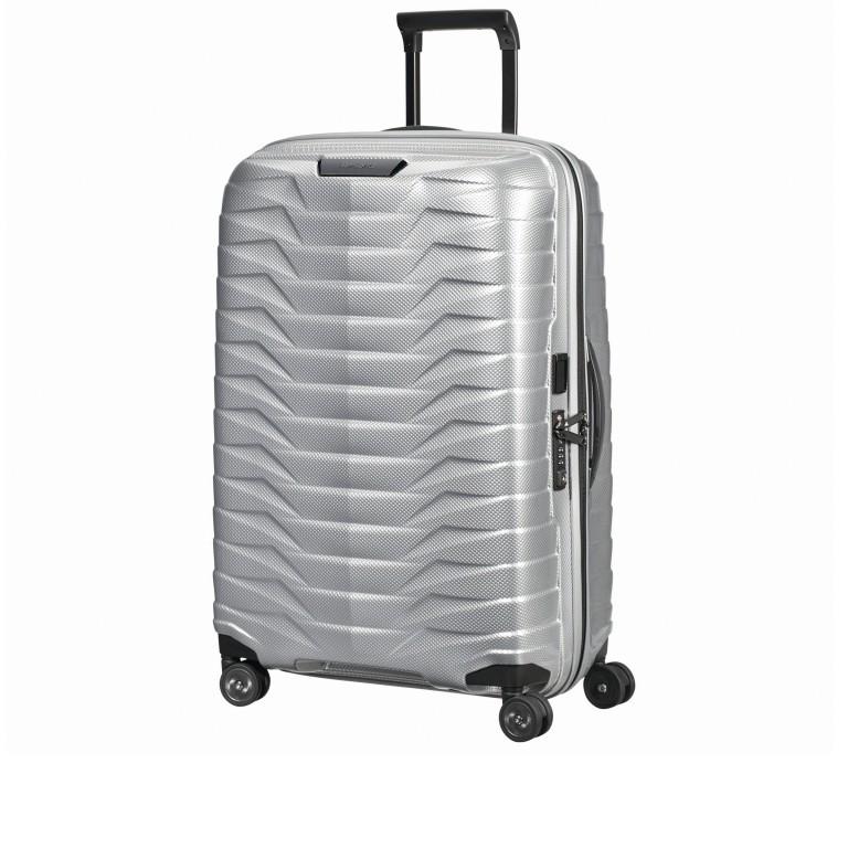 Koffer Proxis Spinner 69 Silver, Farbe: metallic, Marke: Samsonite, EAN: 5400520004468, Abmessungen in cm: 48.0x69.0x29.0, Bild 2 von 14