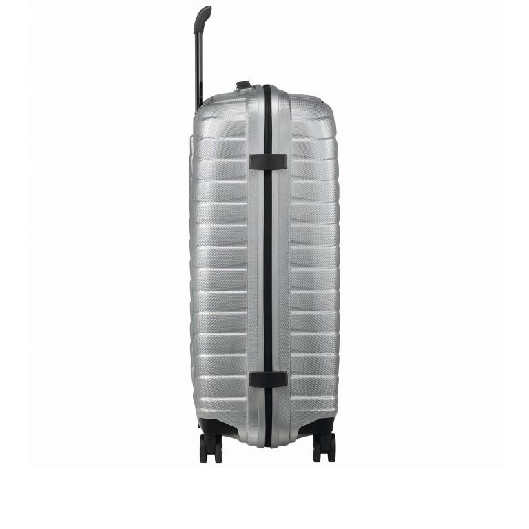 Koffer Proxis Spinner 69 Silver, Farbe: metallic, Marke: Samsonite, EAN: 5400520004468, Abmessungen in cm: 48.0x69.0x29.0, Bild 3 von 14