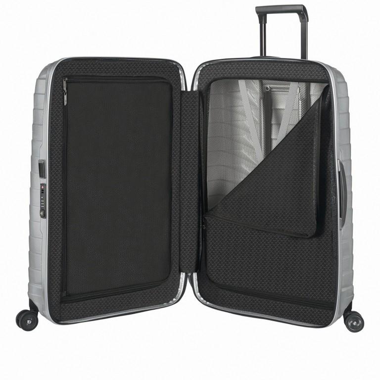 Koffer Proxis Spinner 69 Silver, Farbe: metallic, Marke: Samsonite, EAN: 5400520004468, Abmessungen in cm: 48.0x69.0x29.0, Bild 6 von 14