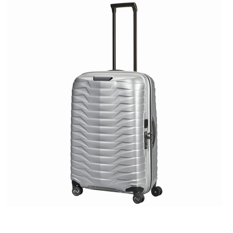 Koffer Proxis Spinner 69 Silver, Farbe: metallic, Marke: Samsonite, EAN: 5400520004468, Abmessungen in cm: 48.0x69.0x29.0, Bild 7 von 14