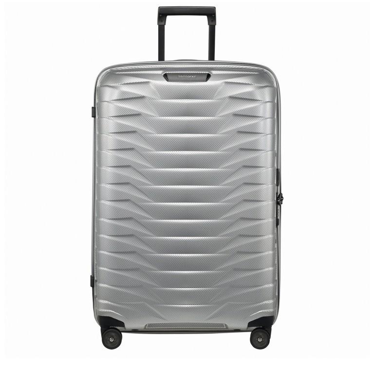 Koffer Proxis Spinner 75 Silver, Farbe: metallic, Marke: Samsonite, EAN: 5400520004512, Abmessungen in cm: 51.0x75.0x31, Bild 1 von 14
