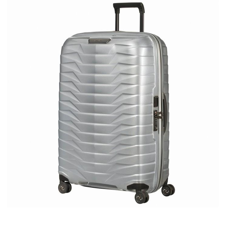 Koffer Proxis Spinner 75 Silver, Farbe: metallic, Marke: Samsonite, EAN: 5400520004512, Abmessungen in cm: 51.0x75.0x31, Bild 2 von 14