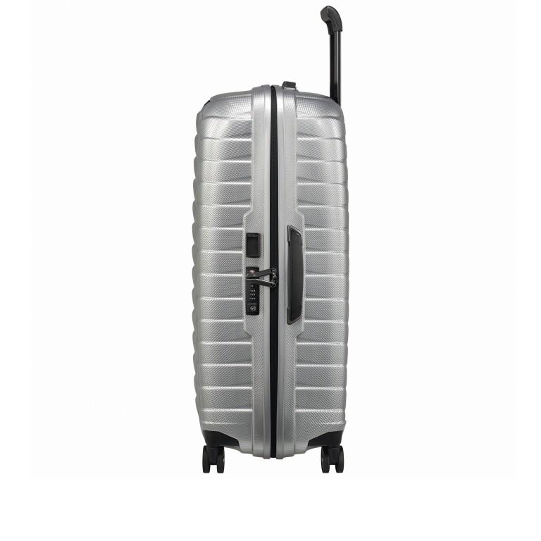 Koffer Proxis Spinner 75 Silver, Farbe: metallic, Marke: Samsonite, EAN: 5400520004512, Abmessungen in cm: 51.0x75.0x31, Bild 4 von 14