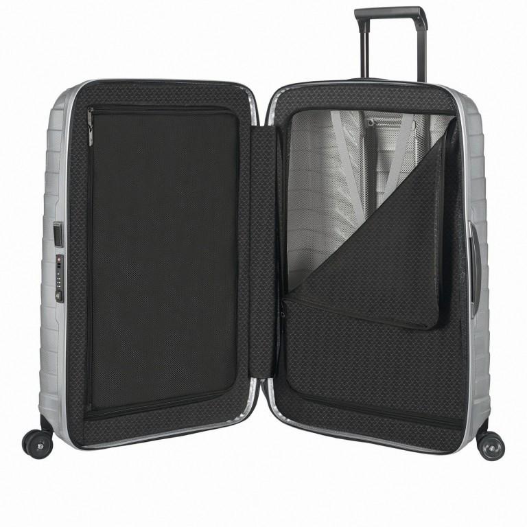 Koffer Proxis Spinner 75 Silver, Farbe: metallic, Marke: Samsonite, EAN: 5400520004512, Abmessungen in cm: 51.0x75.0x31, Bild 6 von 14