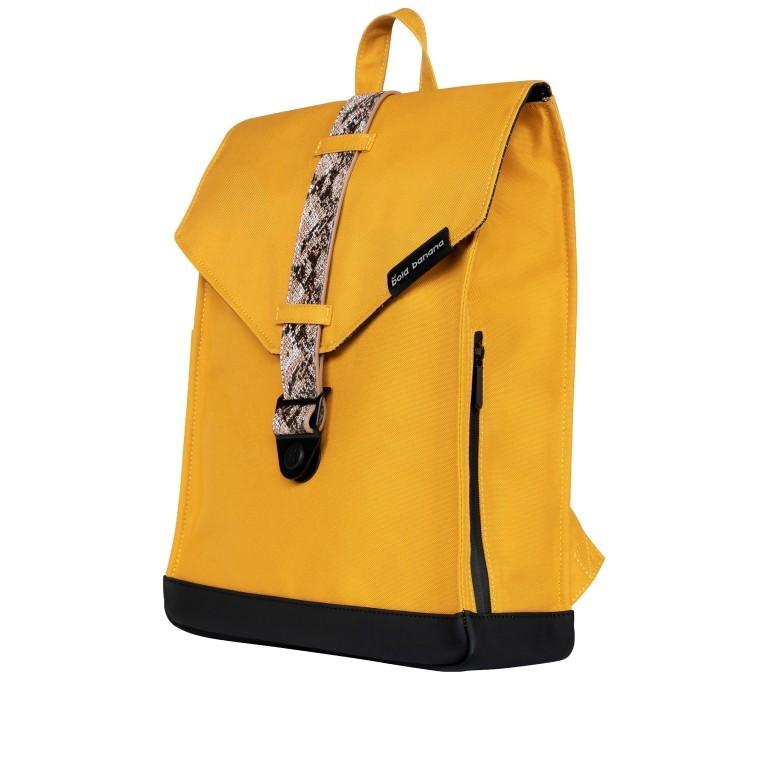 Rucksack AS02 mehrfarbig mit Laptopfach 15,6 Zoll Yellow Snake Tan, Farbe: gelb, Marke: Bold Banana, EAN: 8719874695251, Abmessungen in cm: 31.0x40.0x12.0, Bild 2 von 6