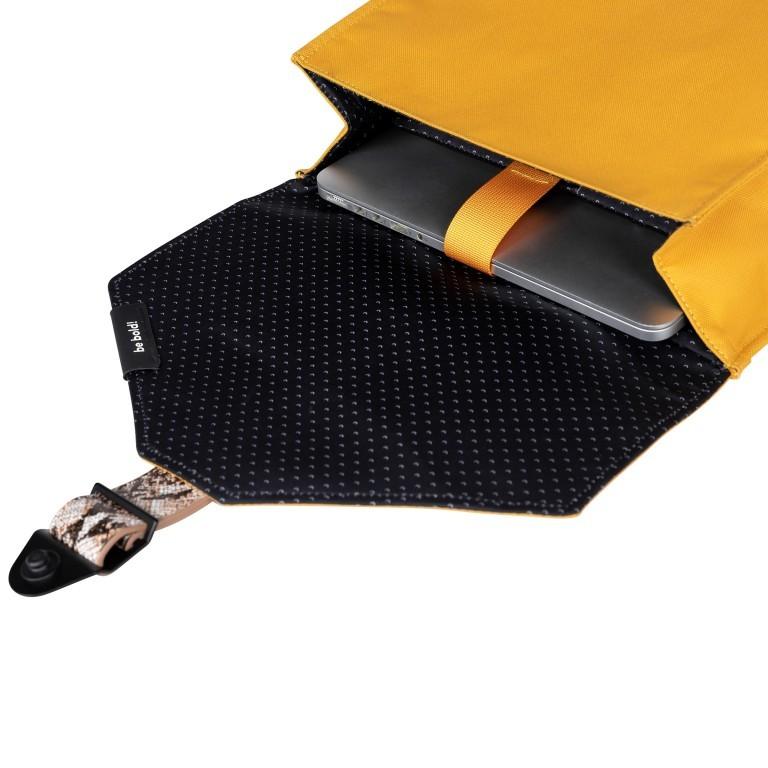 Rucksack AS02 mehrfarbig mit Laptopfach 15,6 Zoll Yellow Snake Tan, Farbe: gelb, Marke: Bold Banana, EAN: 8719874695251, Abmessungen in cm: 31.0x40.0x12.0, Bild 6 von 6