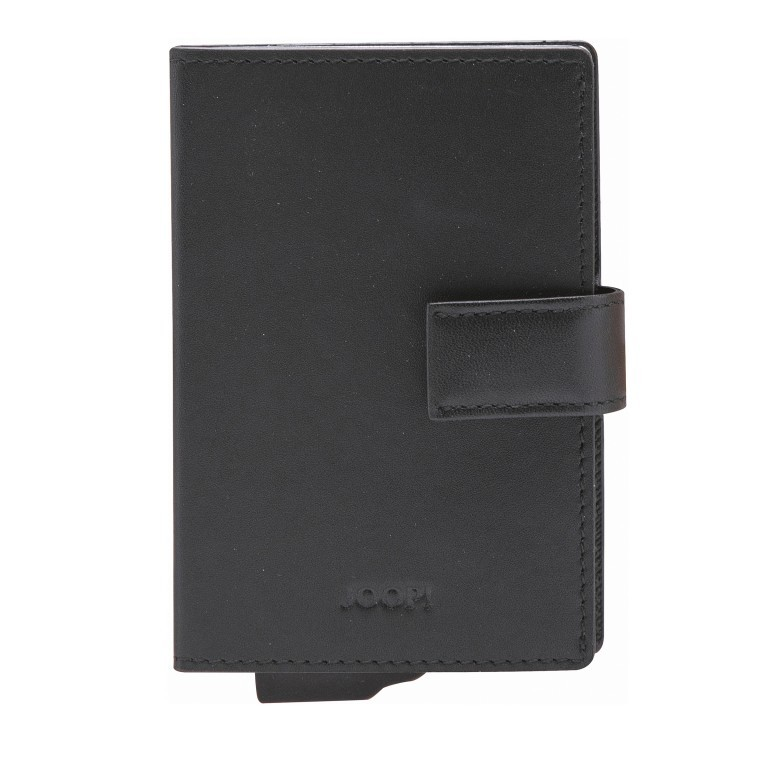 Geldbörse E-Cage C-Two Black, Farbe: schwarz, Marke: Joop!, EAN: 4053533846610, Abmessungen in cm: 7.0x10.0x1.8, Bild 1 von 3